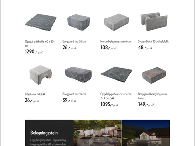 Systemblokk's new homepage interface photography minimal webdesign website web ui homepage clean grid design responsive