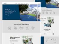 Homepage redesign | Stener Sørensen