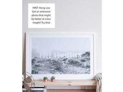 Poster Design hint type design poster