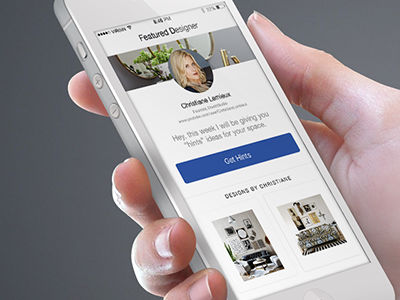 Iphone Mockup Roomhints ux ui design designer mobile app