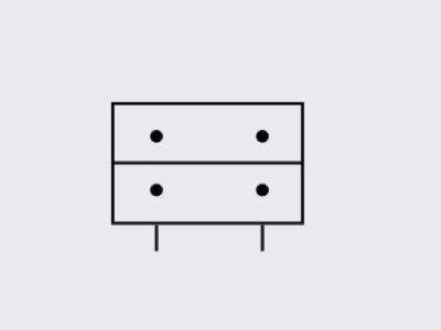 Icon Design For Roomhints.com minimal icon