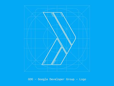 GDG (Google Developer Groups) Logo logo google gdg