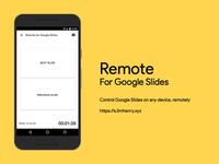 Remote for Google Slides