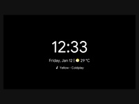 Android Things Smart Digital Clock