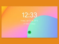 Android Things Smart Digital Clock - Home Page