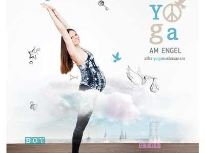 Yoga am Engel Flyer Pregnancy Campaign 2016