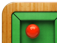 Snooker Table icon(d01)