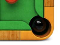 Snooker Table icon(d02)