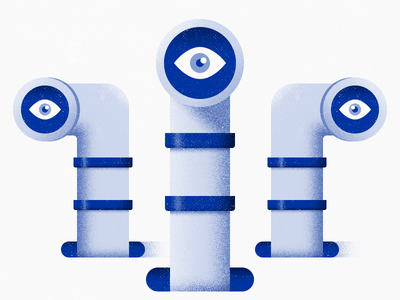 Pipes surreal holes noise eyes metrics illustration pipes textures