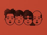 Halftone Faces