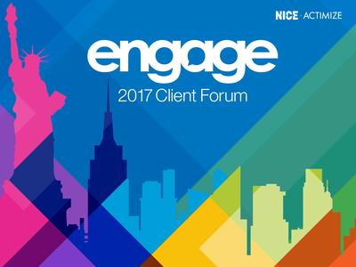 ENGAGE event design logo design event branding
