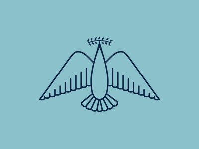 Logo for Victory Festival christianity god victory bird olive branch