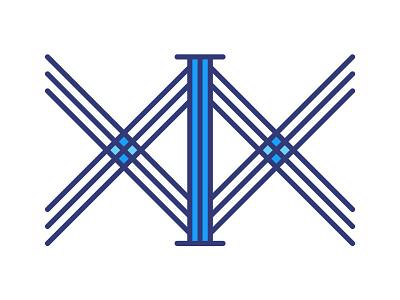 XIX | Nineteen nineteen logotype roman numerals logo design