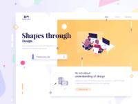 💠 Shapes through design
