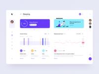 Sleep analysis dashboard