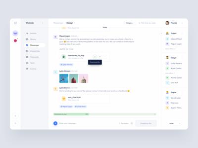 Messenger for Product management app