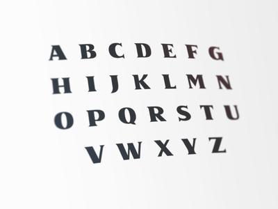 NASA Typeface nasa practice typography font