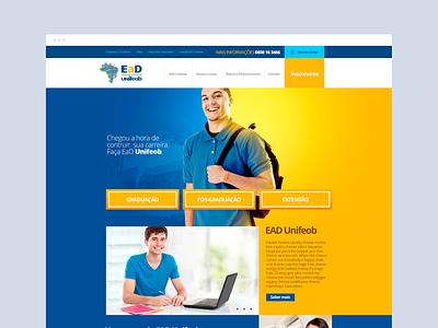 Unifeob - EAD flat digital dibbble dailyinspiration dribbble ux ui design web design web layout behance webdesign interface design ux ui ead