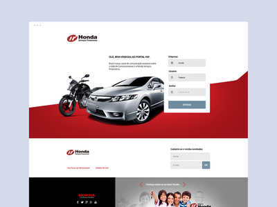 Honda company branding digital art director adobe graphic dibbble dailyinspiration flat dribbble ux ui design web design web layout behance webdesign interface design ux ui