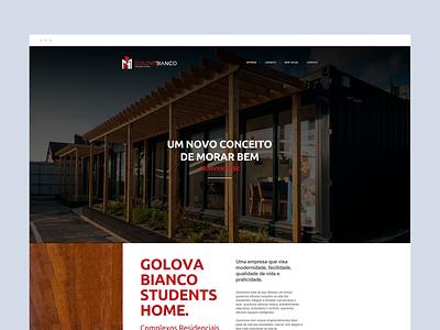 Golova Bianco branding digital art director adobe graphic dibbble dailyinspiration flat dribbble ux ui design web design web layout behance webdesign interface design ux ui