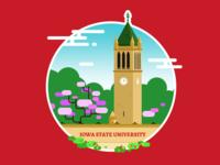 Iowa State University Illustration