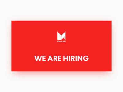 We Are Hiring munich frontend developer finance senior berlin job hiring