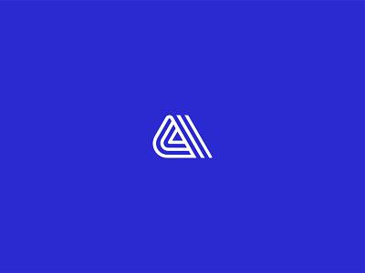 Alliance a letter a logo