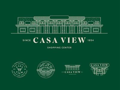 Casa View Dallas, TX type shopping identity logo dallas casa