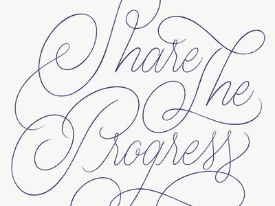 Share the Progress