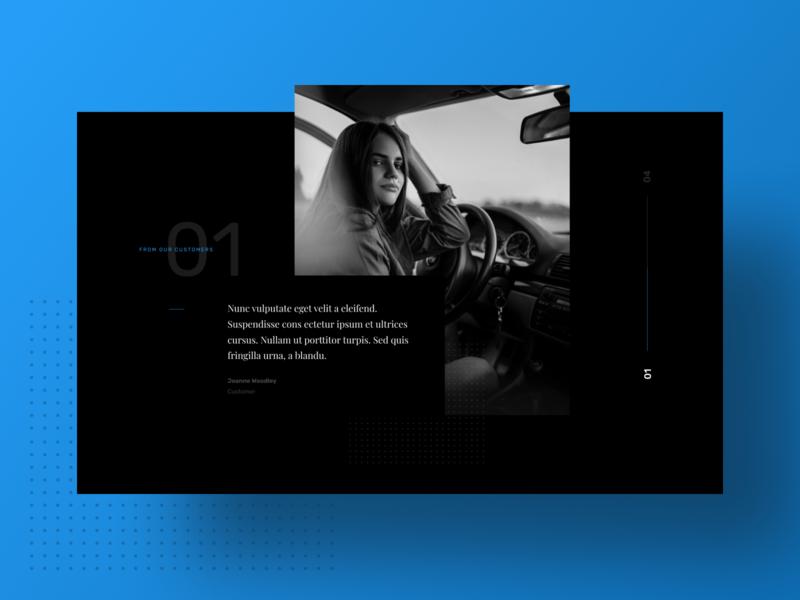 WIP B2B Auto Parts CMS Theme 3 white simple clean b2b brand typography black branding blue interface modular web design web modern ui design ux