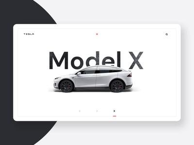 Tesla Interaction animation slider transition interaction motion white simple clean brand black typography interface branding modular web design web modern ui design ux