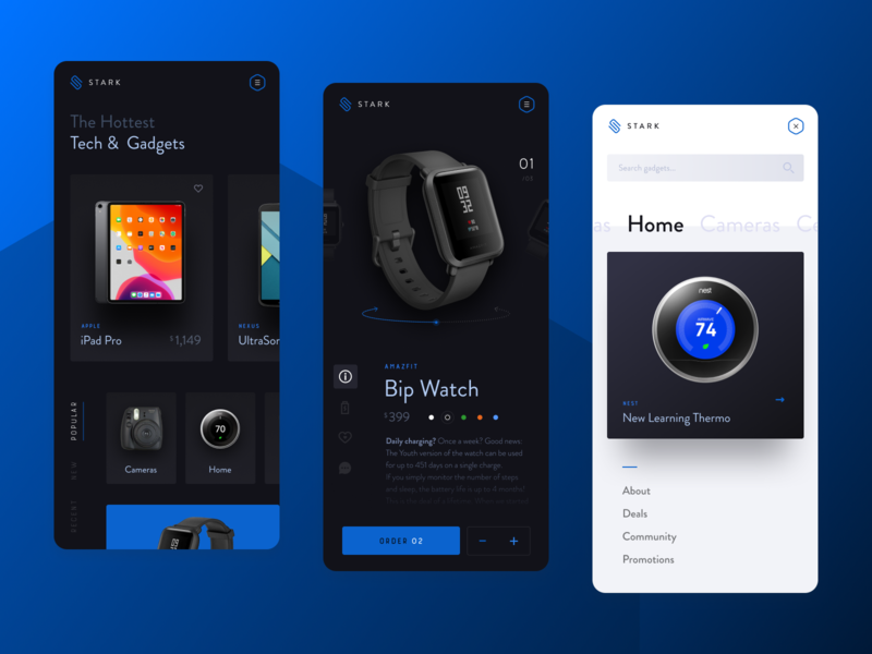 Mobile Commerce Theme web ux ui typography simple mobile logo ios interface icon graphic design graphic flat design clean brand branding blue app black