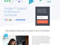 Google + Coursera