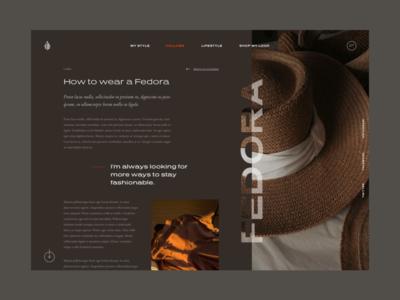 Single post page. branding uidesign ui webdesign website blog design blogger blog post single design web blog