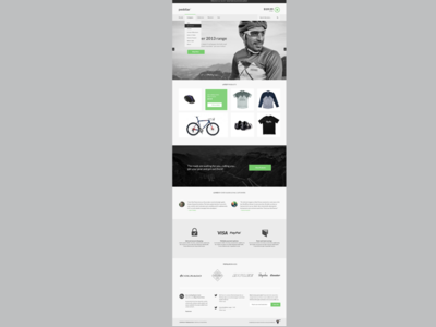 Peddlar Theme wordpress theme wordpress woocommerce theme template bicycle shop masonry grid home page lato