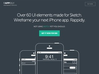 RAPPIDLY - Wireframing templates