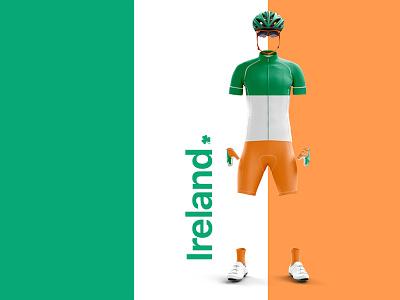 Team Ireland clothing ireland cycling kit cycling