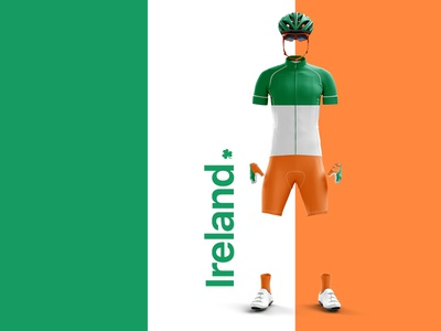 Team Ireland clothing ireland cycling kit cycling