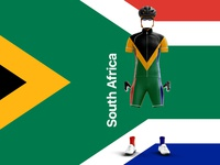 South African Cycling Kit