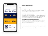 Re Imagining A Mobile Boarding Pass By Gary Murray Dribbble Dribbble
