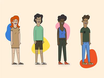 Character Design human people character illustration character design branding digital illustration illustration