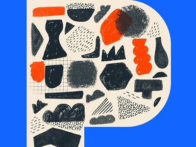 Shapes 36daysoftype illustration graphic