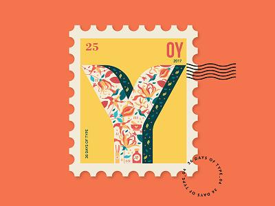 Y for Ylang Ylang picame abduzeedo illustree graphic natural floral ylang
