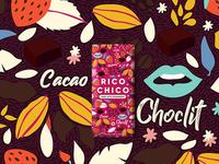 Rico Chico Strawberry and Dark chocolate
