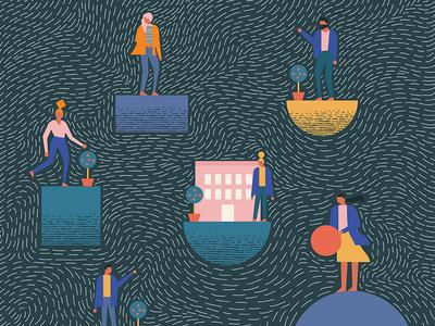 Illustration series - Beautiful Escape.