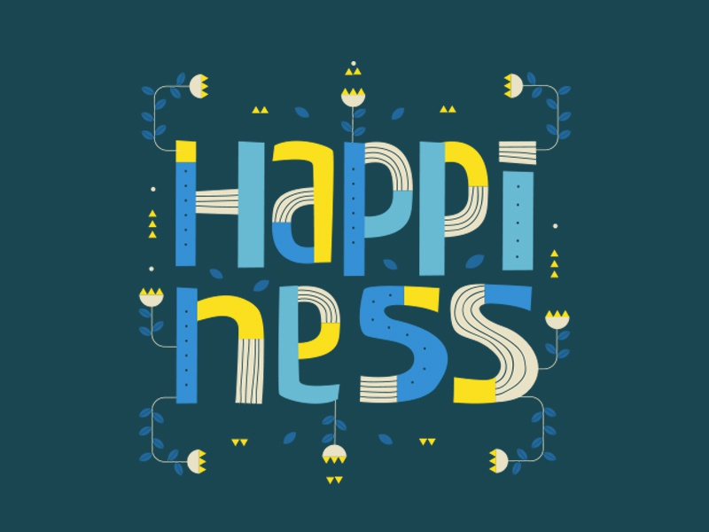 Happiness happiness dimension space design beautiful escape