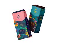 Bossa Nova Packaging Design colorful parrot badge coffee logo logo branding concept brand identity luxury packaging illustration colourful tropical coffee bean coffeeshop coffee illustration packaging packaging design branding
