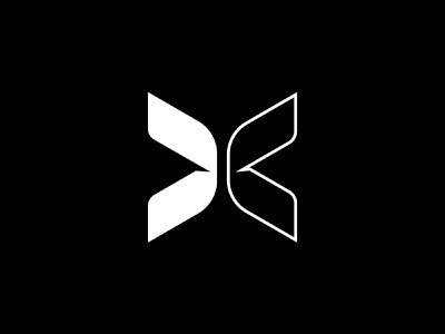TOGETHXR Logo Design simple animal butterfly sport logo design icons logodesign minimal luxury forward arrow sharp icon letter x bold empowerment female logo sports