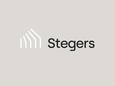 Stegers Logo Branding luxury brand architectural logodesign branding luxury branding architecture website abstract house home architect highend high end luxury natural minimal scandinavian logo design interiour architecture