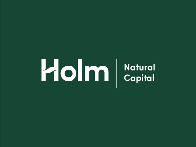 Holm Natural Capital Logo natural friendly eco agri agriculture environmental design organic sustainable recycle investment fund environment scandinavian minimal nature logotype environmental green branding logo